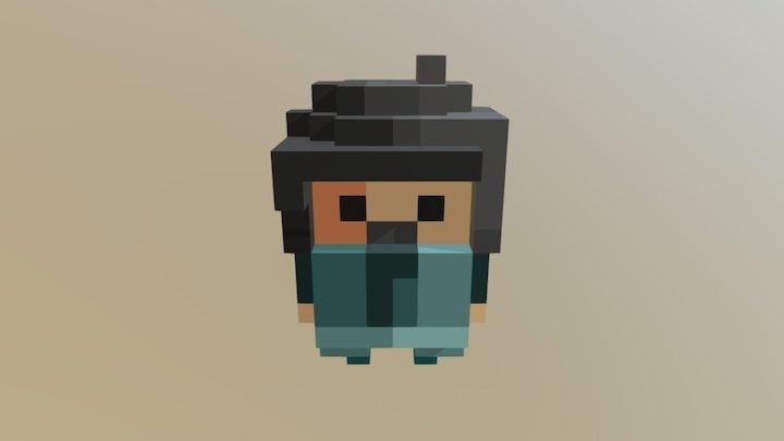 Grumpy 3D Model