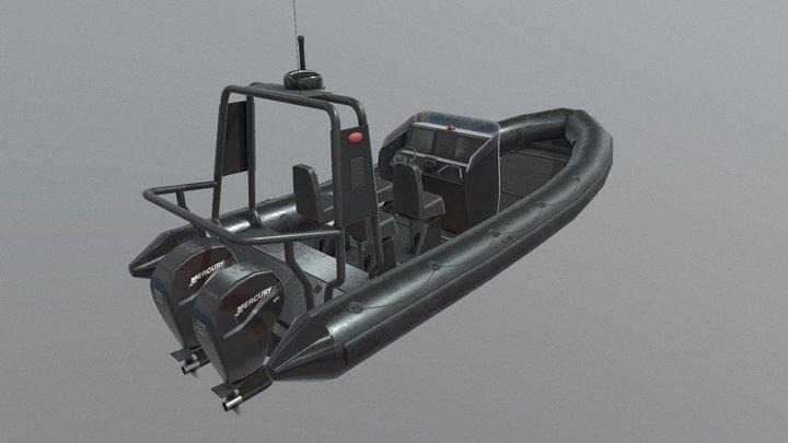 Modular Rib 3D Model
