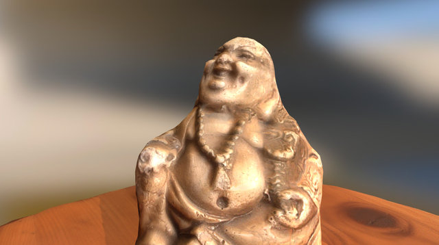 Buddha_PhotoScan_Test001 3D Model