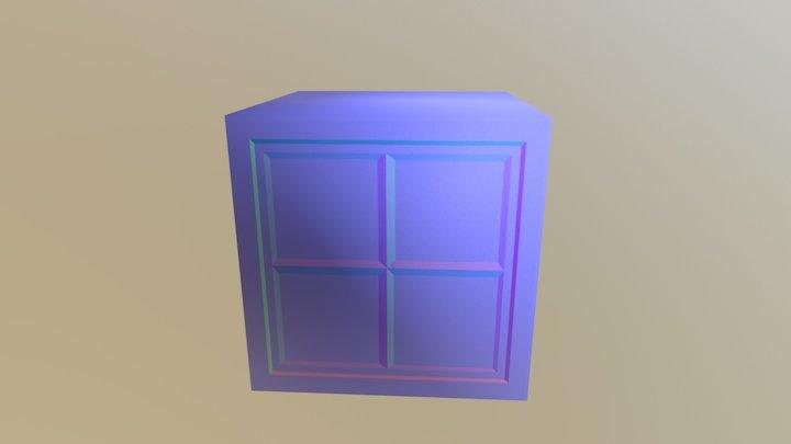 V Box 3D Model
