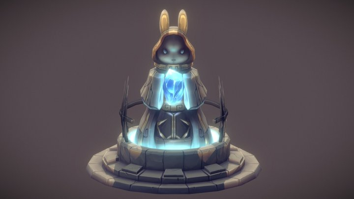 【Rabbit spawning】 3D Model