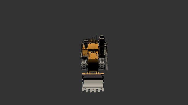 Hitachi Ex8000 Mobile 3D Model