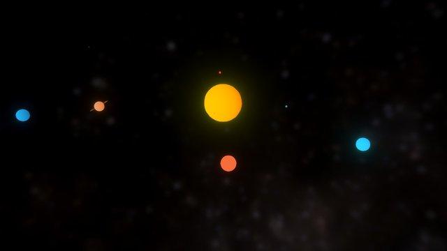 Sistema Solar 3D Model