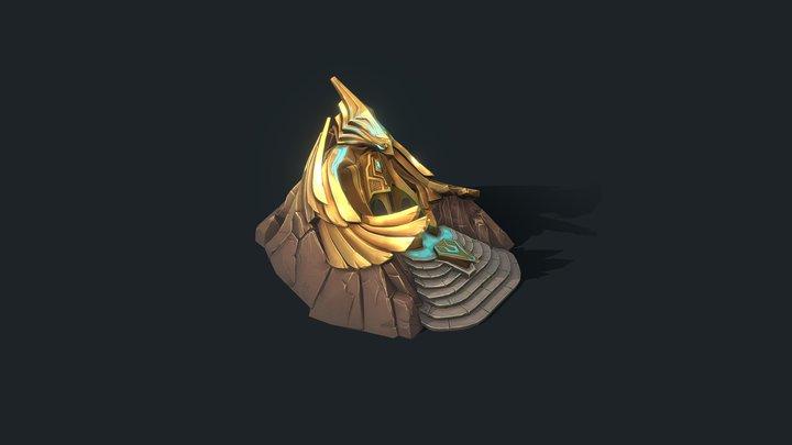 Eagle Altar 3D Model