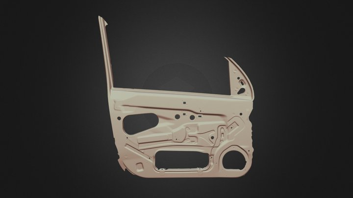 Car Door Tool 3D Scan 3D Model