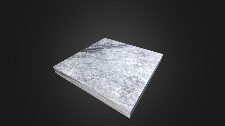 LSI Stone - Azul Lagoa 3D Model