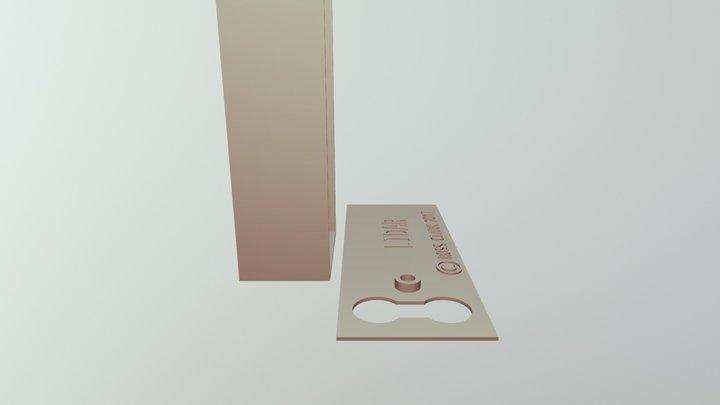 LIDAR - Simple MEGA Example 3D Model