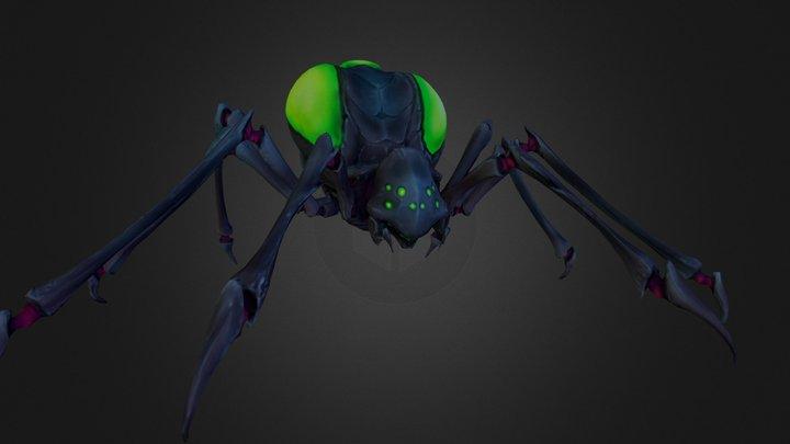 Dark_Sky- Small spider 3D Model