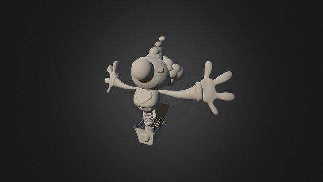 Palhacinho 3D Model