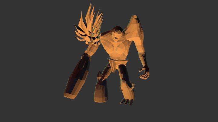 Shake Anim- Titan 3D Model