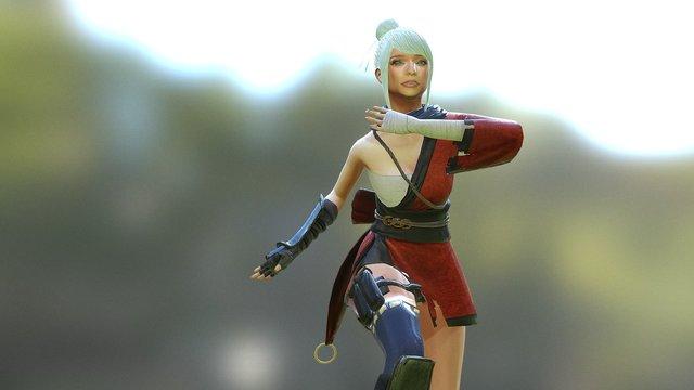 Mei Yin 3D Model