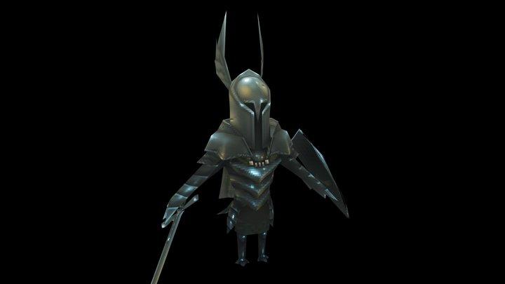 Dark Souls: New Leaf - VGRemix Knight Model 3D Model