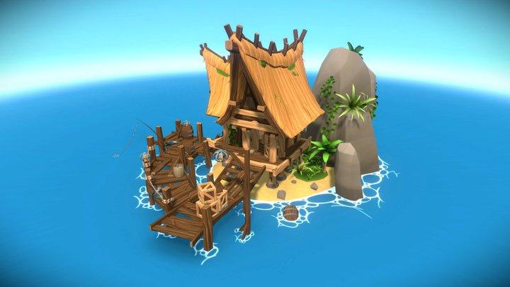 Fisherman's Isle 3D Model