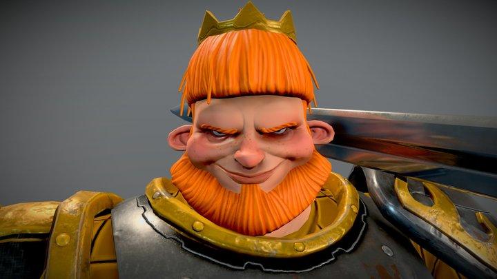 King F*cking Arthur II 3D Model
