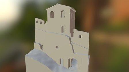 Pantó Tower (Morella, Spain) 3D Model