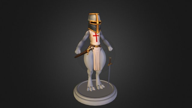 Kobold Crusader 3D Model
