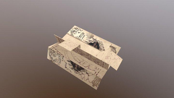 Marauder's Map 3D Model