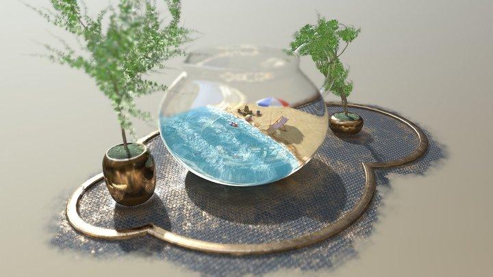 Beach Memories 3D Model
