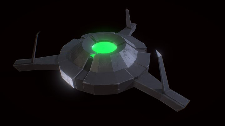 Half Life 2 Hopper Mine 3D Model