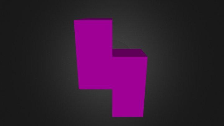 Purple Part 3D Model
