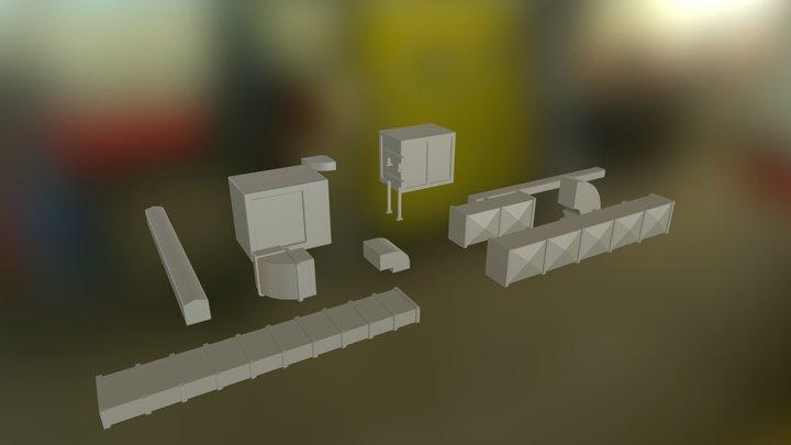 Modular Venting System 3D Model