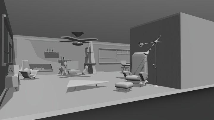 3D Background 3D Model