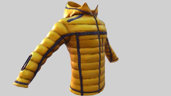 Solar Panels & Gps Winter Jacket 3D Model