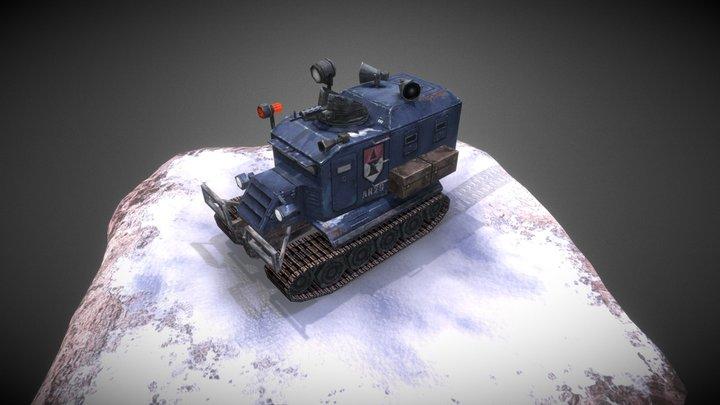 Police SnowCat 3D Model