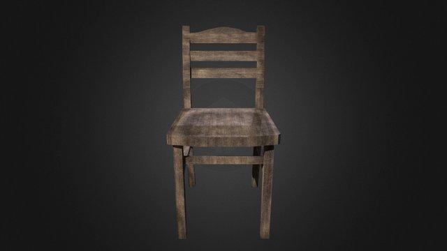 Chair Horror01 3D Model