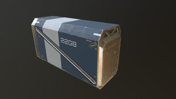 Sci Fi Props 1 3D Model