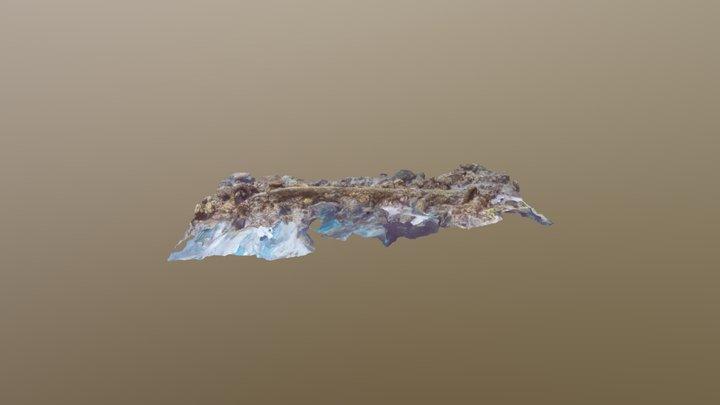 Boot Reet, Reef Top Anchor 3D Model