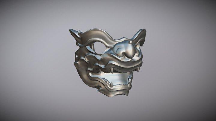 Thai Monkey Mask 3D Model