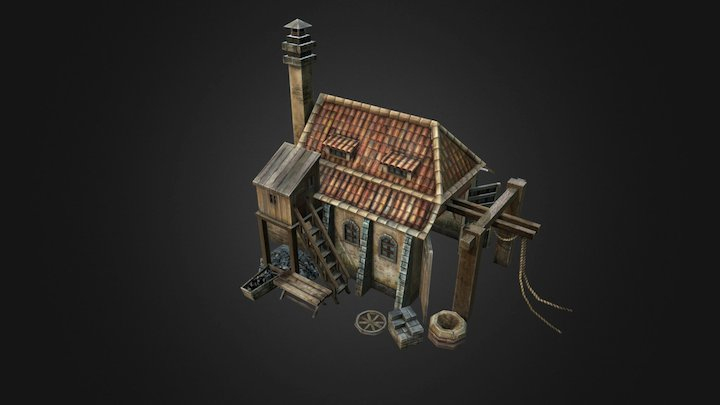 CosacsHouse 3D Model