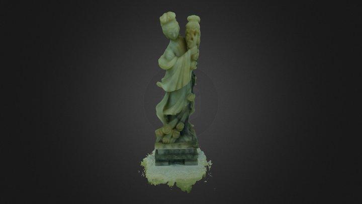 Jade figurine v2 3D Model