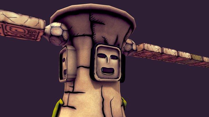 Golem RPG Maker XP 3D Model