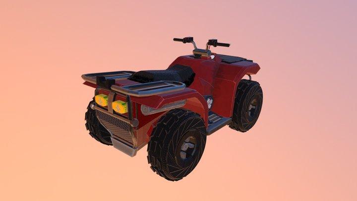 Quadracycle 3D Model