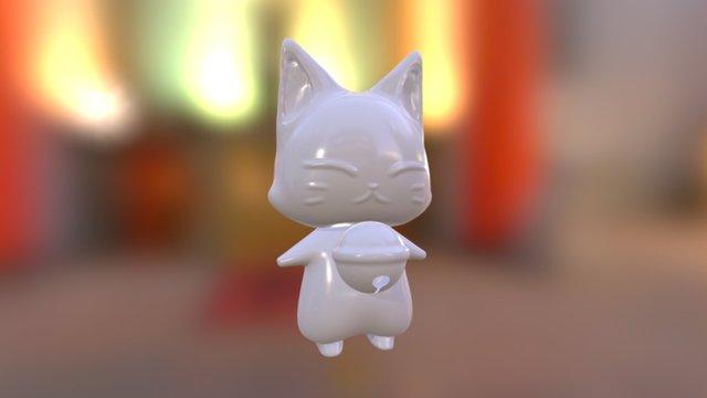 小狐狸 3D Model