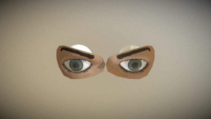 Eye Test 3D Model