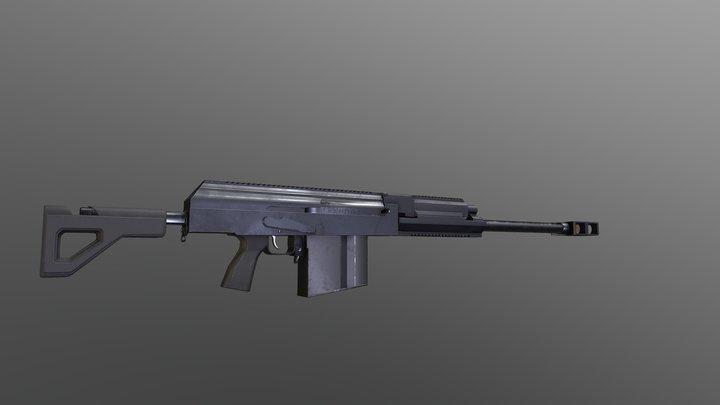 AK-50 BMG 3D Model
