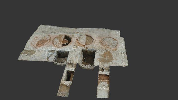 Mapping 3D drone arqueología, AirDroneVision.es 3D Model