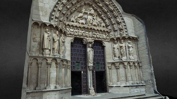 Puerta del Sarmental (Modelo 2 con Decimado) 3D Model