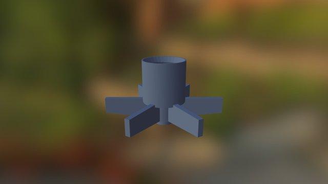 Rotor Pump 3D Model