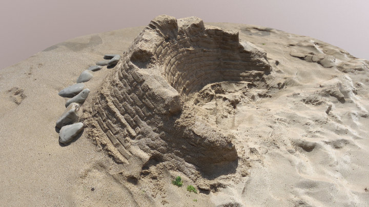 DOBRI`S SECOND SANDCASTLE 2017 3D Model