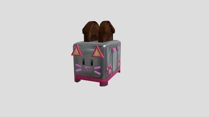 ToasterCat 3D Model