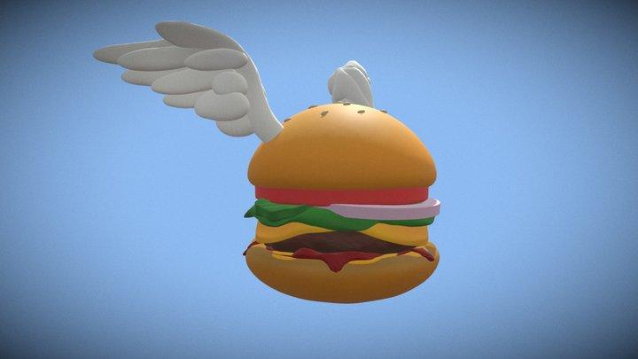 Sculptober Day 9 - Wing 3D Model