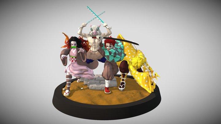 Demon Slayer 3D Model