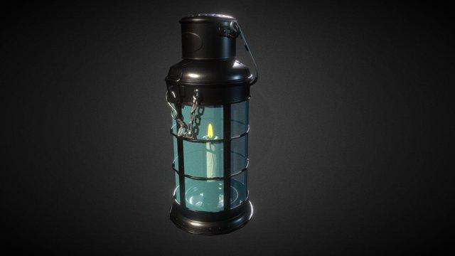 Basic Shading Lantern 3D Model