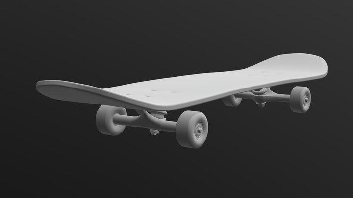 Skateboard [Sketchfab Texturing Challenge] 3D Model