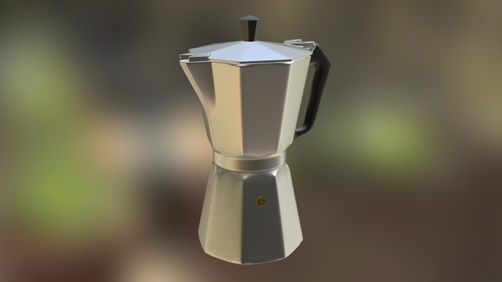 Coffee Pot 3D Model
