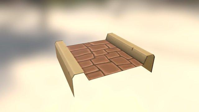 Road For Game 3D Model